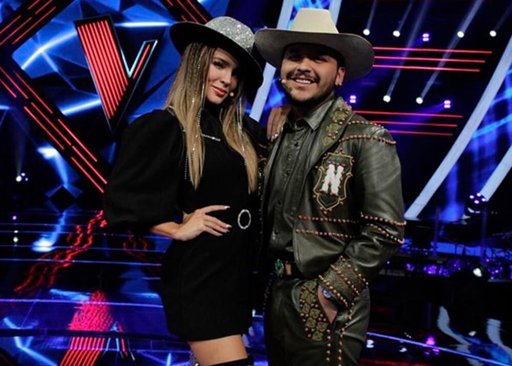 24540_Foto: Christian Nodal y Belinda / La Voz Azteca