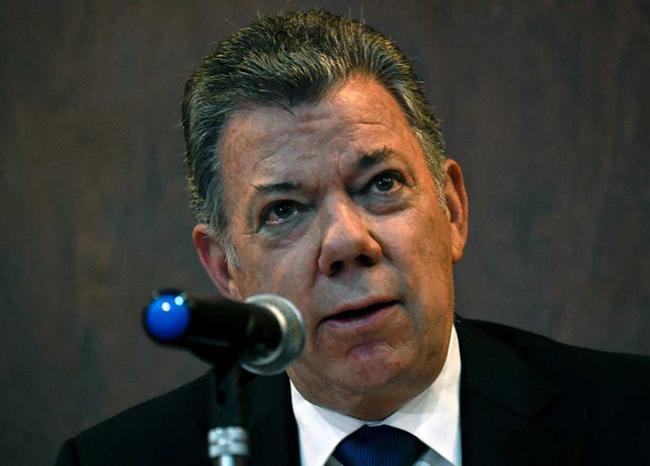 Juan Manuel Santos. Foto AFP