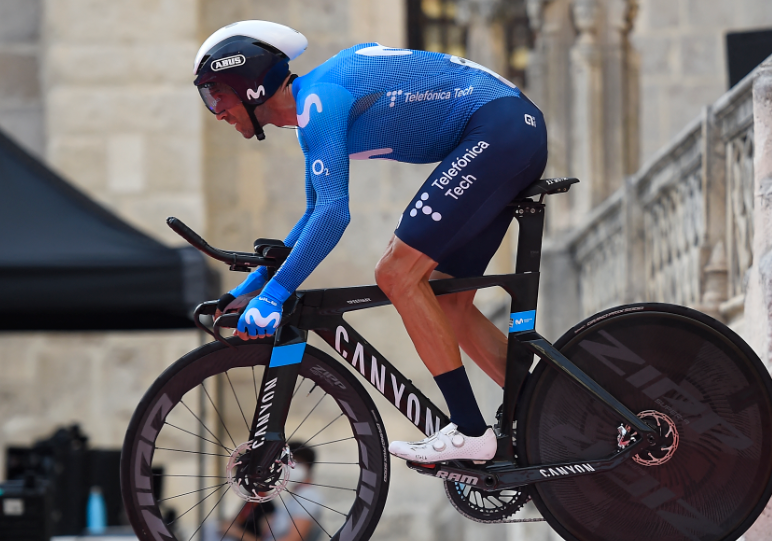 Alejandro Valverde es uno de ciclistas que más kilómetros ha recorrido en su carrera.