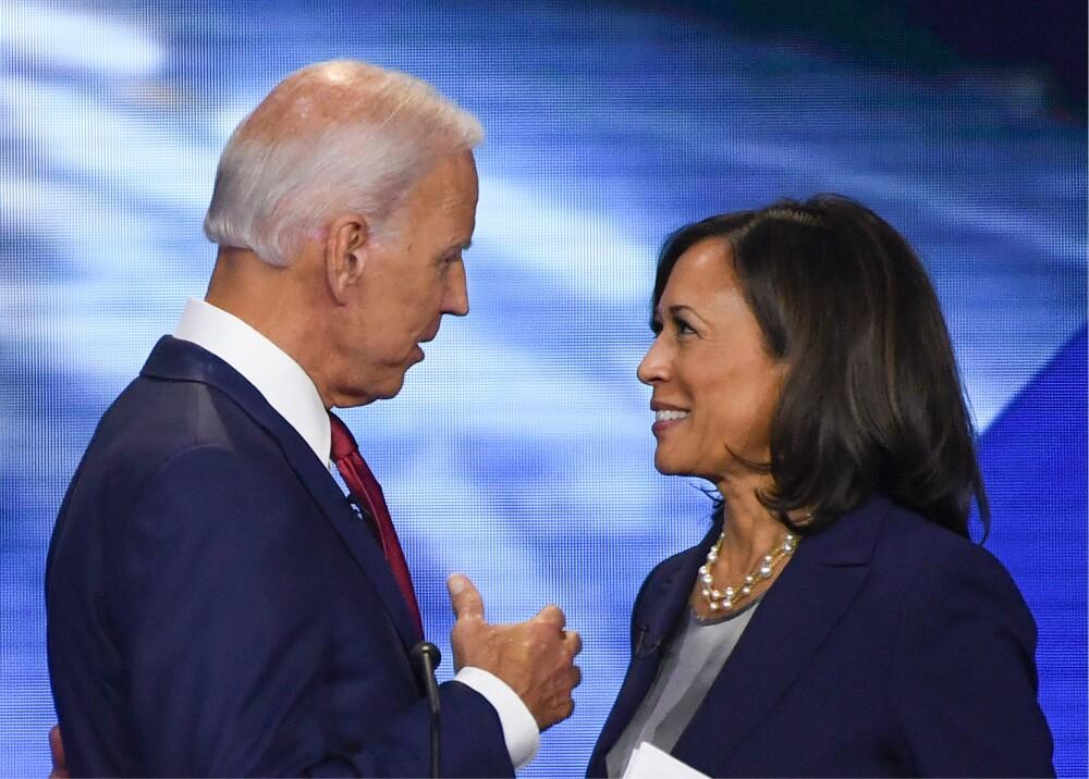 373997_Joe Biden y Kamala Harris // Foto: AFP