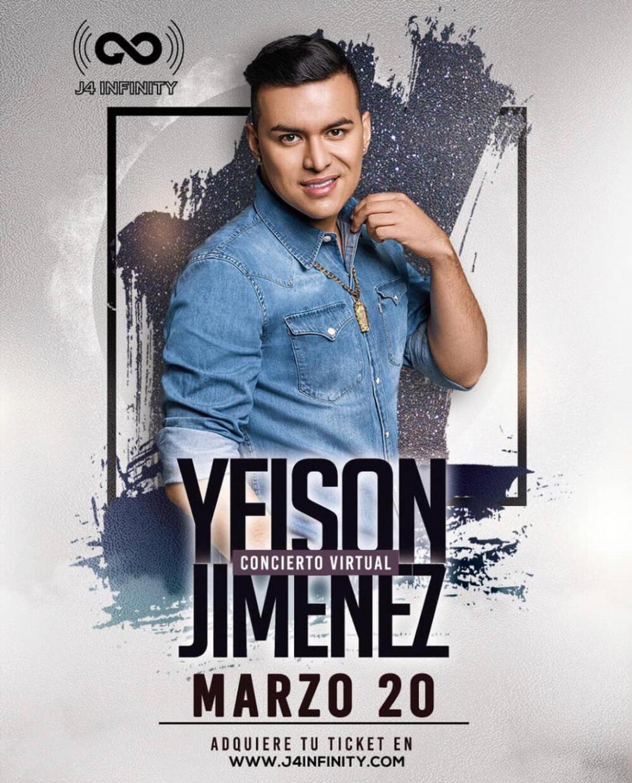 Yeison Jimenez - Concierto Virtual