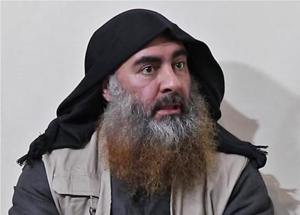 346889_BLU Radio. Al Baghdadi // AFP PHOTO / SOURCE / AL-FURQAN
