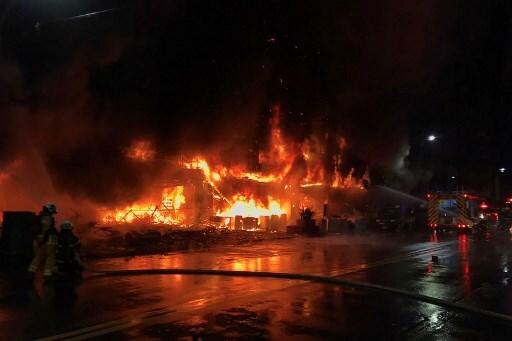 taiwan incendio