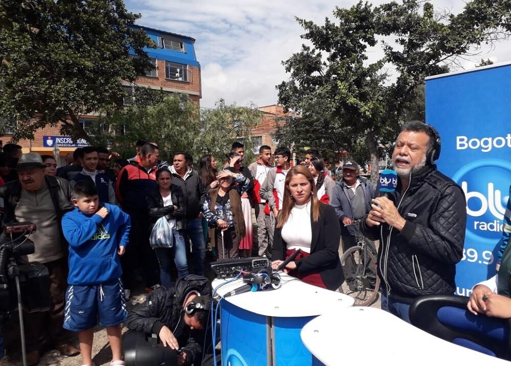 346416_BLU Radio. Linero al Barrio / Foto: BLU Radio
