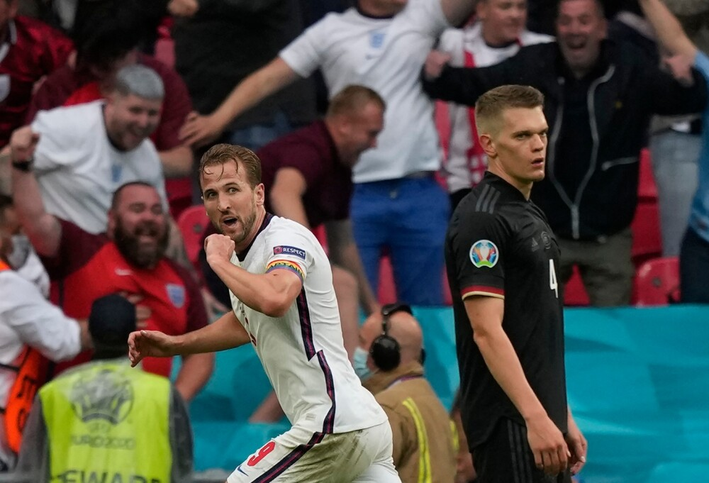 Inglaterra Vs. Alemania - Eurocopa 2021