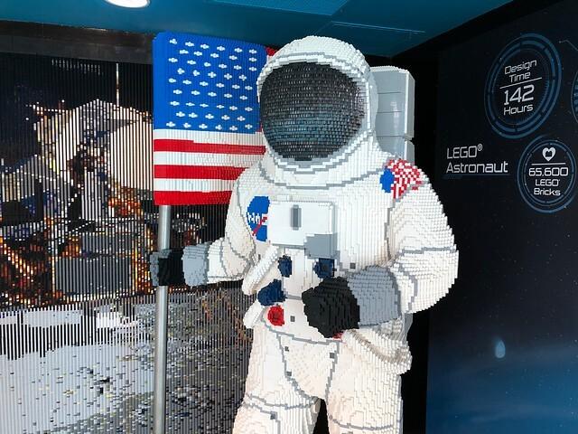 Tributo Lego a NASA