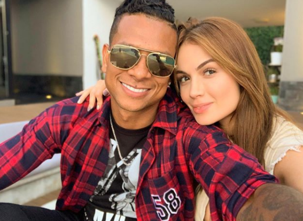 349900_BLU Radio// Sara Uribe y Freddy Guarín. Foto: Instagram