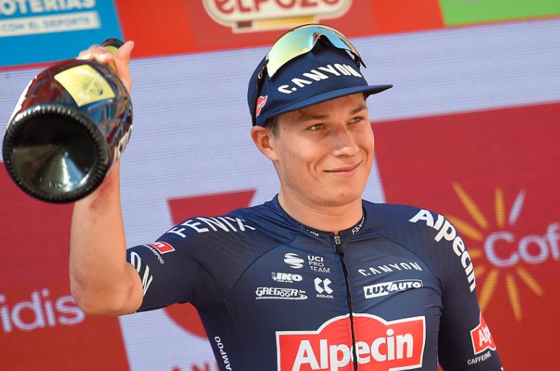 Jasper Philipsen fue el ganador de la etapa 2 de la Vuelta a España 2021.