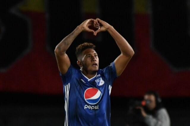 334139_José Guillermo Ortiz, delantero de Millonarios