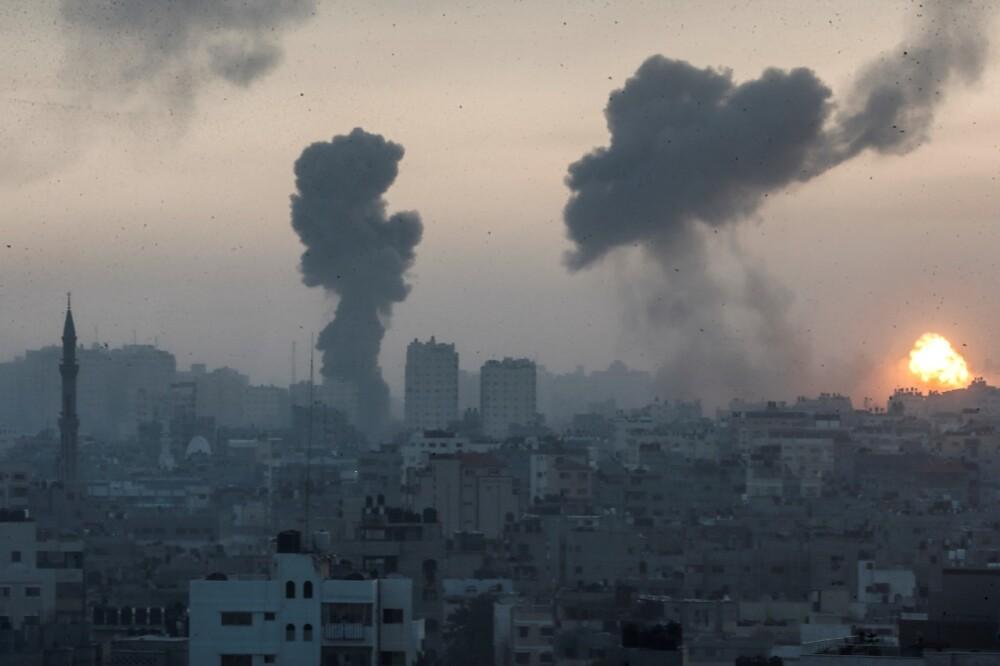 Bombardeos en Gaza AFP.