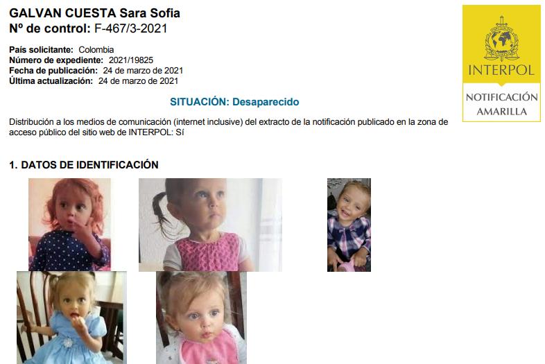Sara Sofía Interpol