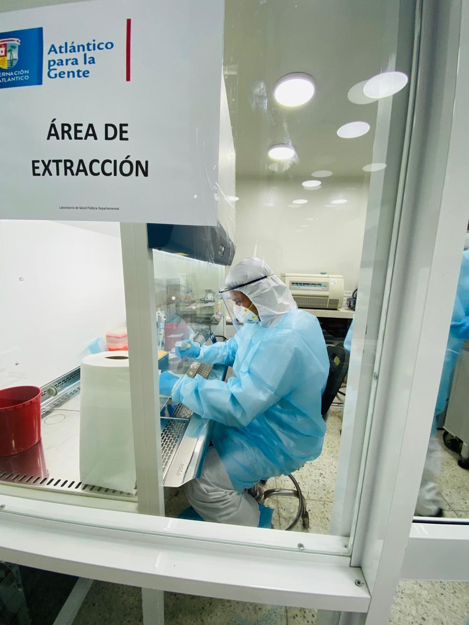 359519_BLU Radio // Laboratorio de Salud Pública del Atlántico // Foto: Gobernación del Atlántico