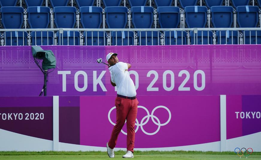 Juan Sebastián Muñoz terminó con cuatro golpes por debajo del par del campo en primera ronda del golf de los Juegos Olímpicos de Tokio 2020.
