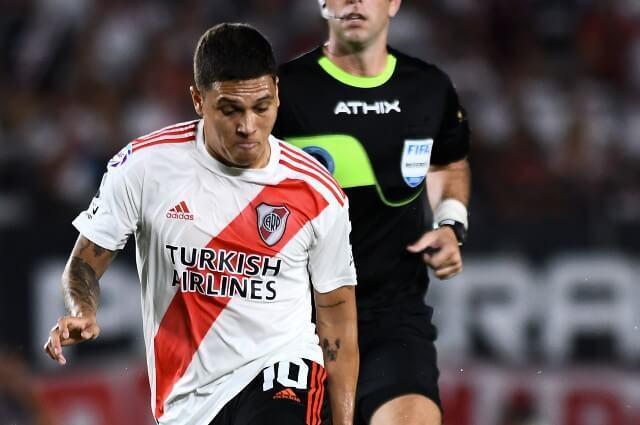 333574_Juan Fernando Quintero, jugador de River Plate