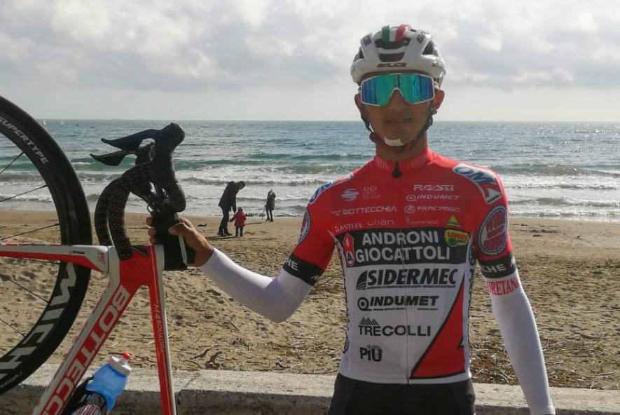 Santiago Umba tendrá en el Trofeo Laigueglia su segunda carrera del 2021.