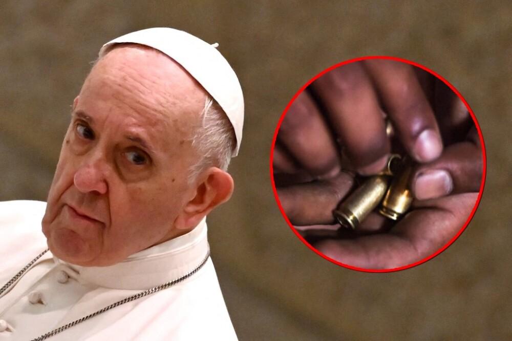 Amenaza a papa Francisco