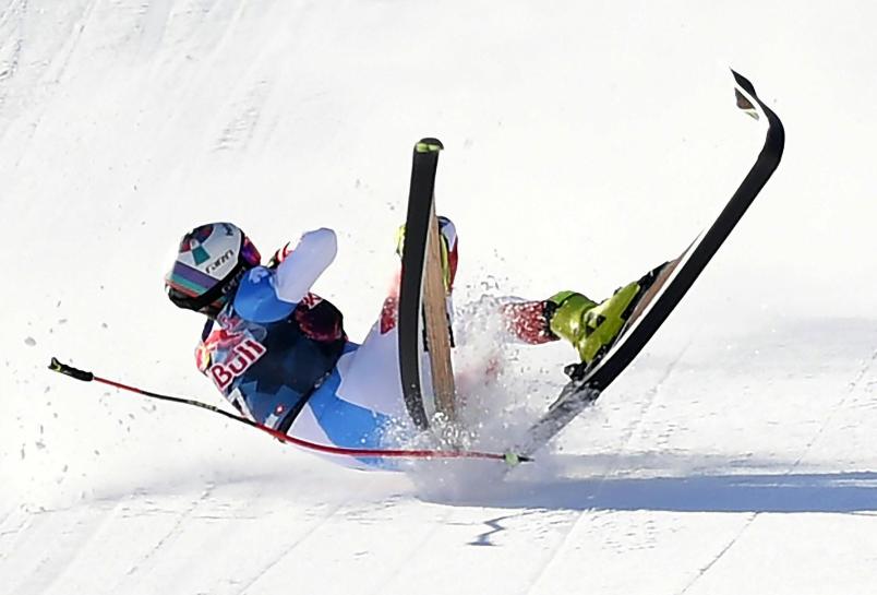 Urs Kryenbuehl, esquiador suizo.