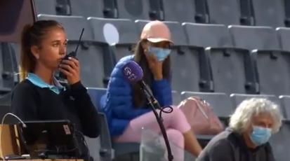 Padre de Camila Giorgi intimidó a una juez en el WTA 1000 de Roma.