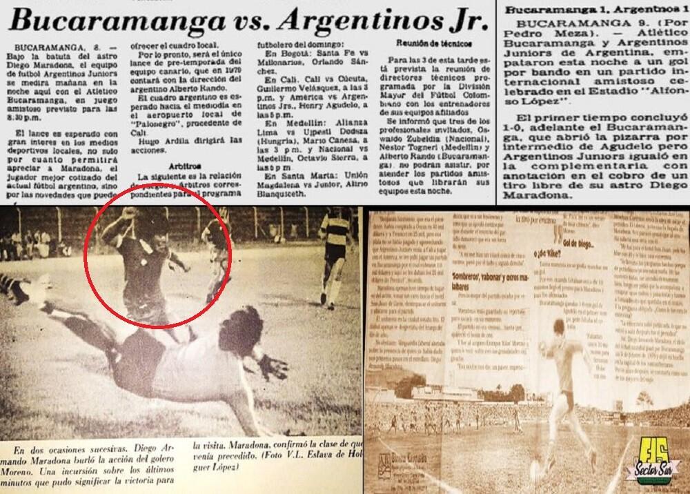 Maradona en Bucaramanga
