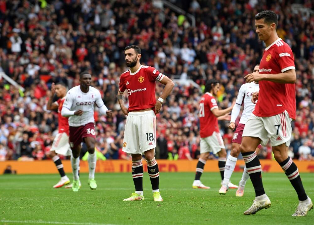 Manchester United cayó ante el Aston Villa Foto AFP.jpg