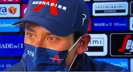 Egan Bernal, ganador de la novena etapa del Giro de Italia.jpg