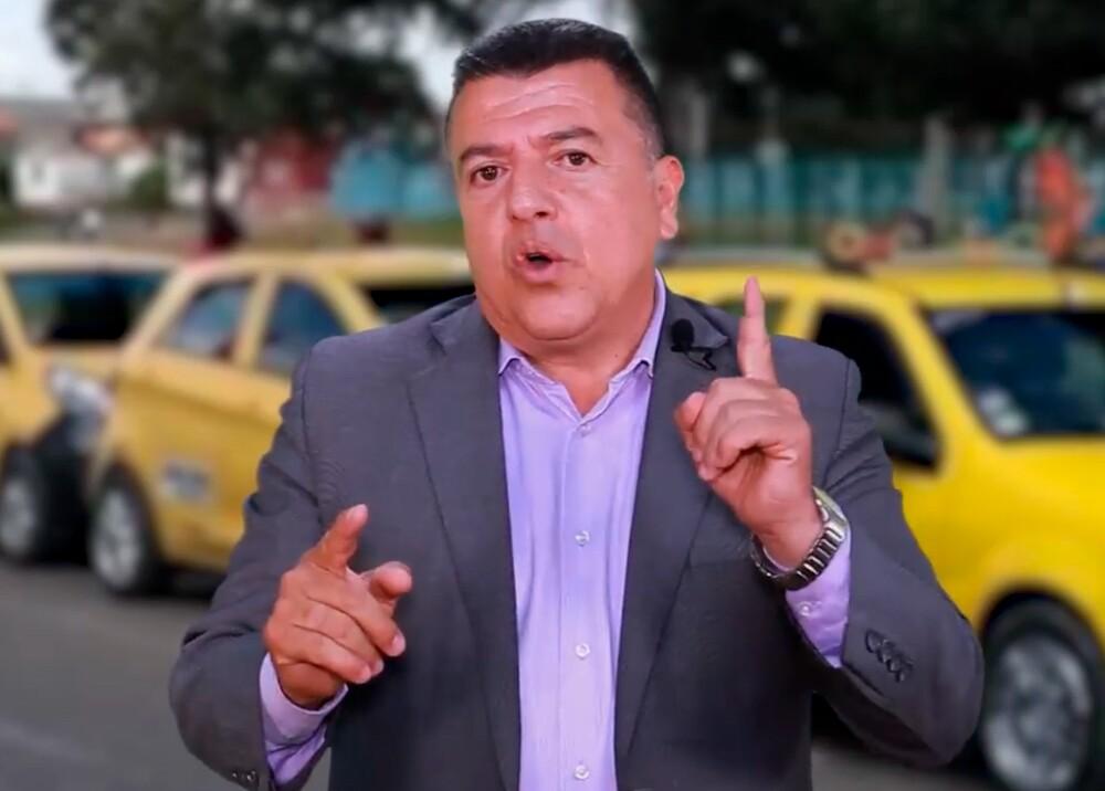 354661_Hugo Ospina, líder de taxistas / Foto: Facebook Hugo Alberto Ospina