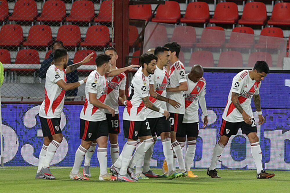 River Plate v Banfield - Copa Liga Profesional Argentina 2020