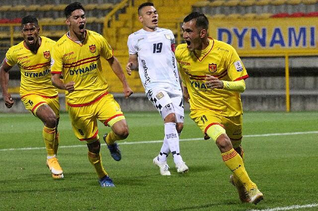Bogotá Fútbol Club contra Boyacá Chicó