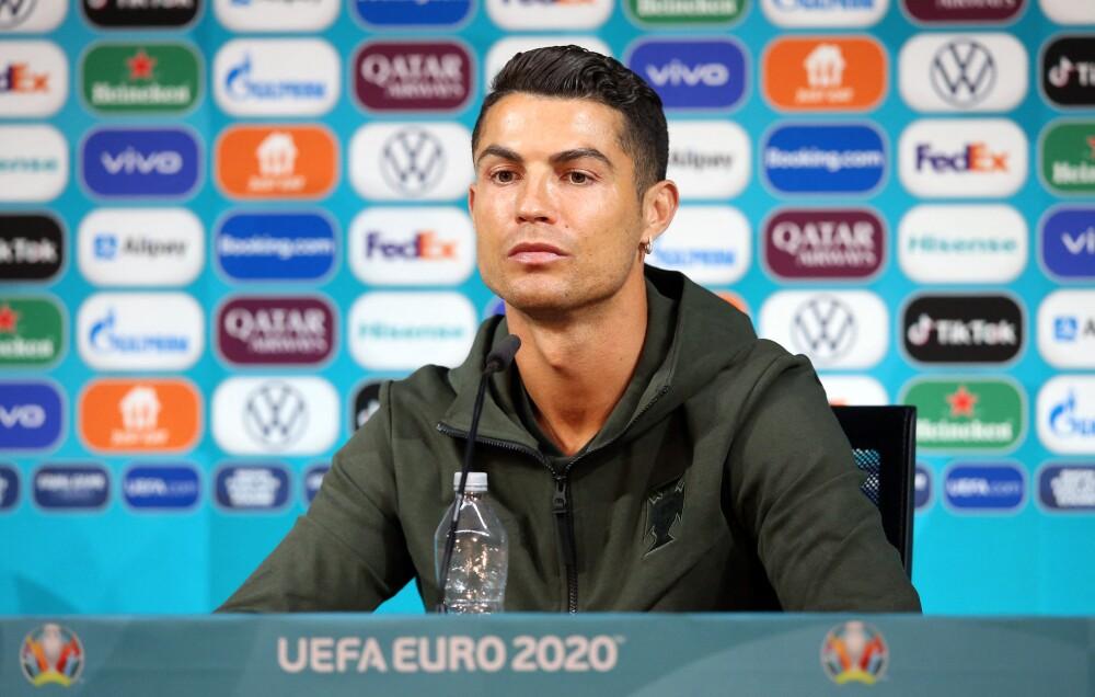 Incidente Cristiano Ronaldo y Coca-Cola