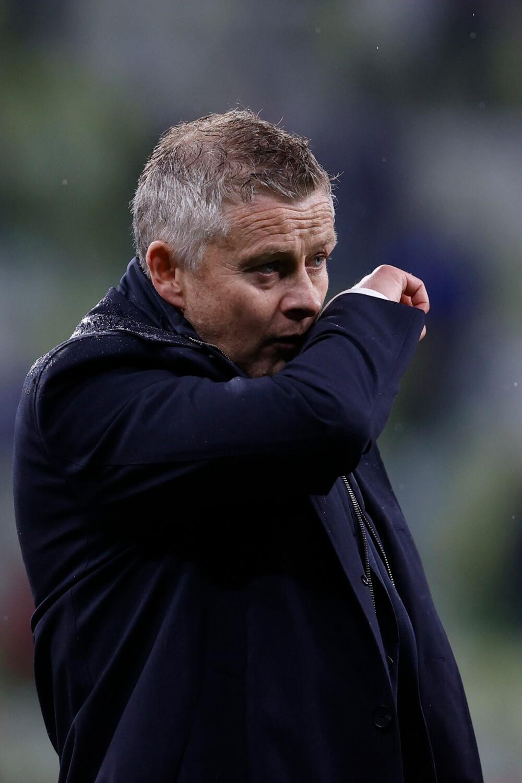 Ole Gunnar Solskjaer, técnico del Manchester United. AFP.jpg