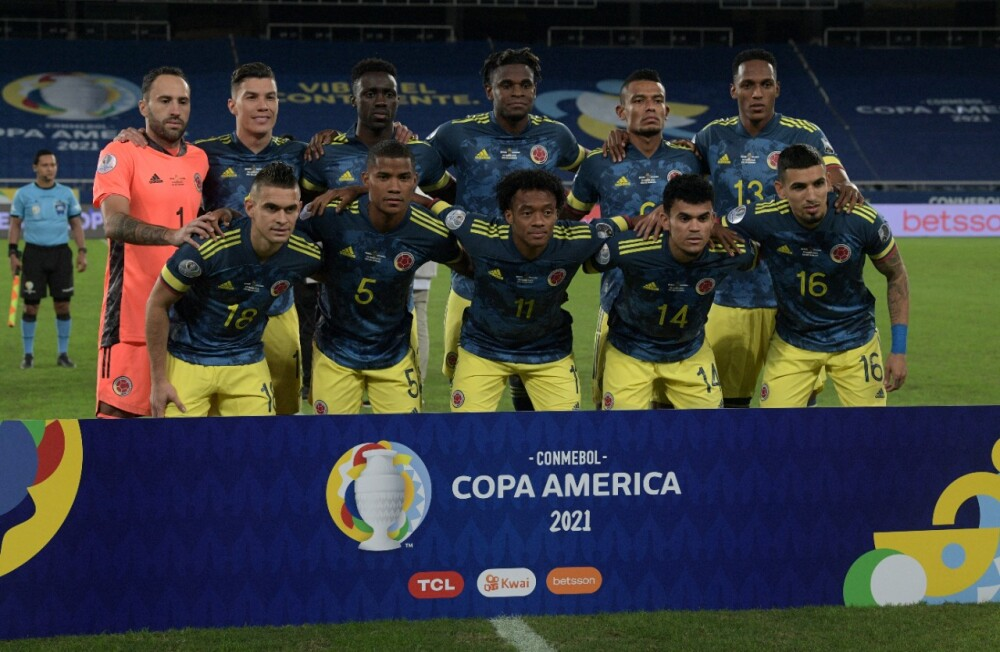 Selección Colombia AFP.