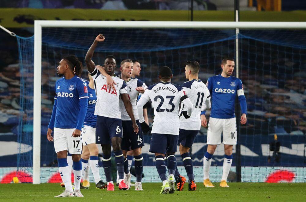 Davinson Sanchez, Tottenham vs Everton