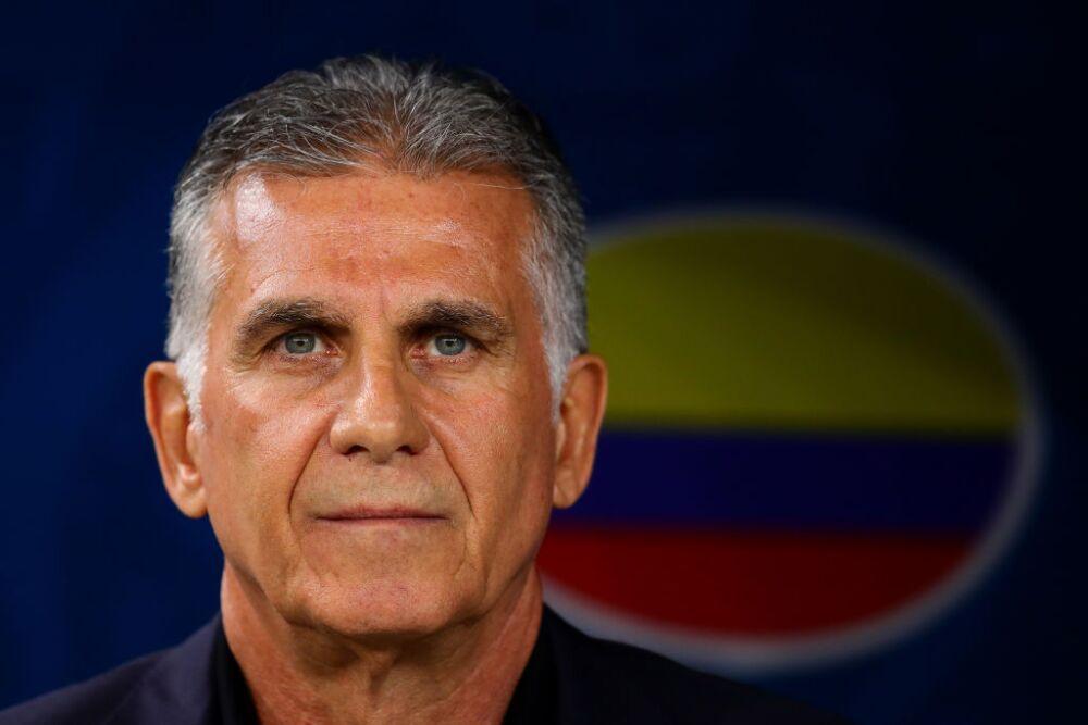Carlos Queiroz, técnico Selección Colombia
