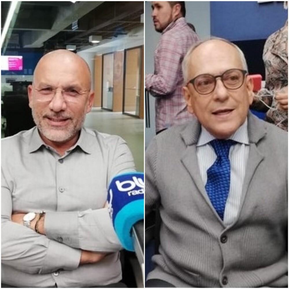 334274_BLU Radio. Roy Barreras y José Obdulio Gaviria / Foto: BLU Radio