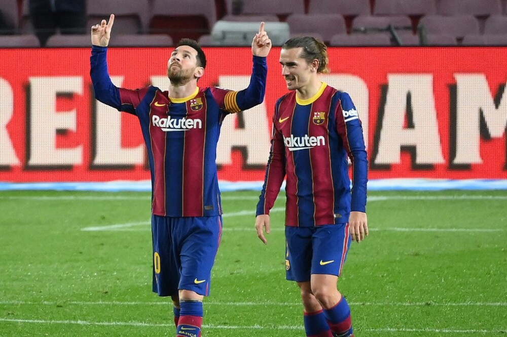Segundo gol Messi, Barcelona