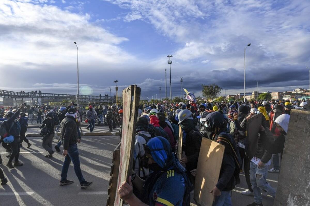 Paro nacional en Colombia: así se vivieron las protestas del 11 de mayo