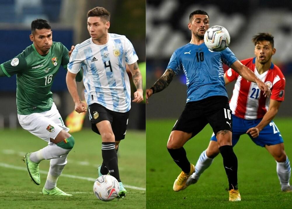 Bolivia Argentina Uruguay PAraguay AFP.