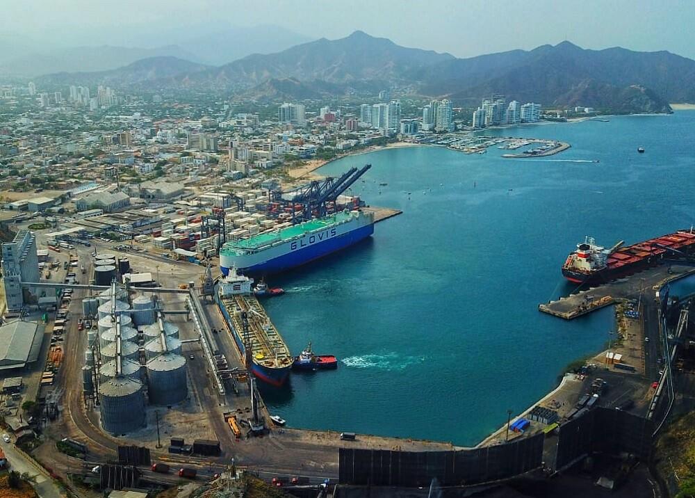 333446_BLU Radio. Sociedad Portuaria de Santa Marta // Foto: Cortesía Sociedad Portuaria de Santa Marta