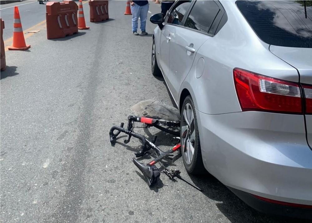 371777_Accidente de ciclista // Foto: Suministrada