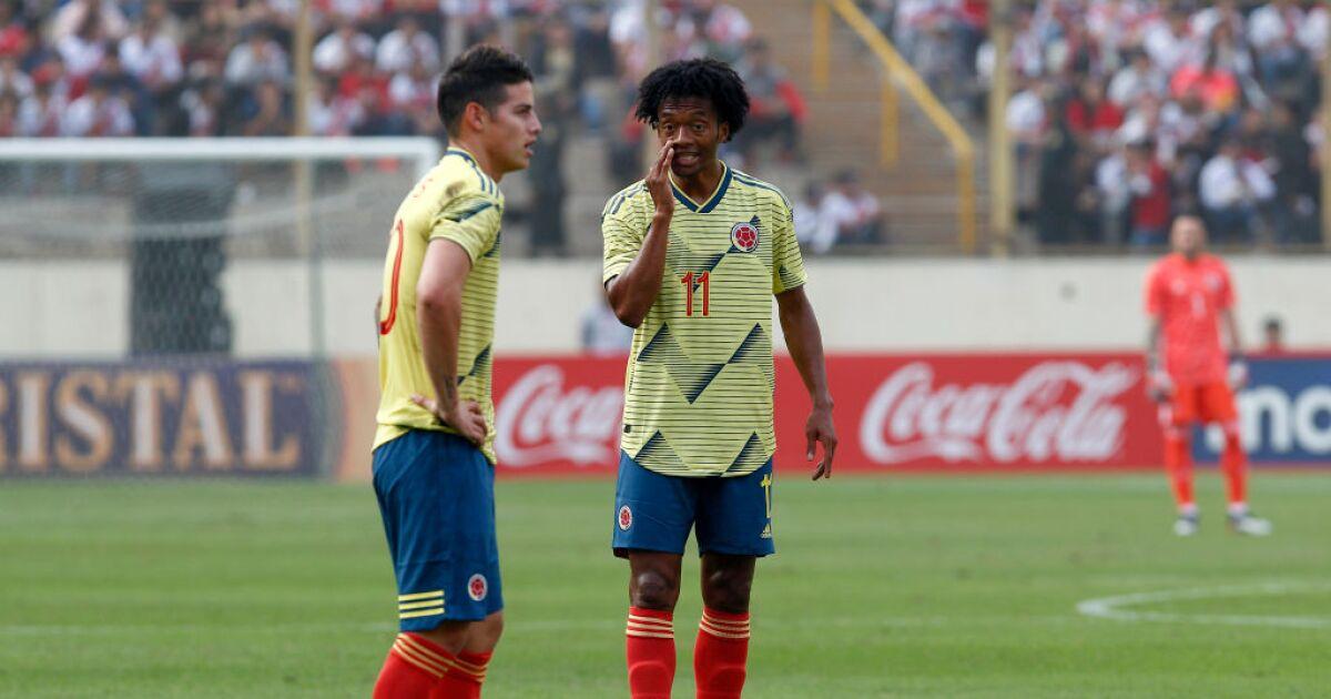Ecuador vs. Colombia: James Rodríguez y Juan Cuadrado encabezan los mensajes de esperanza