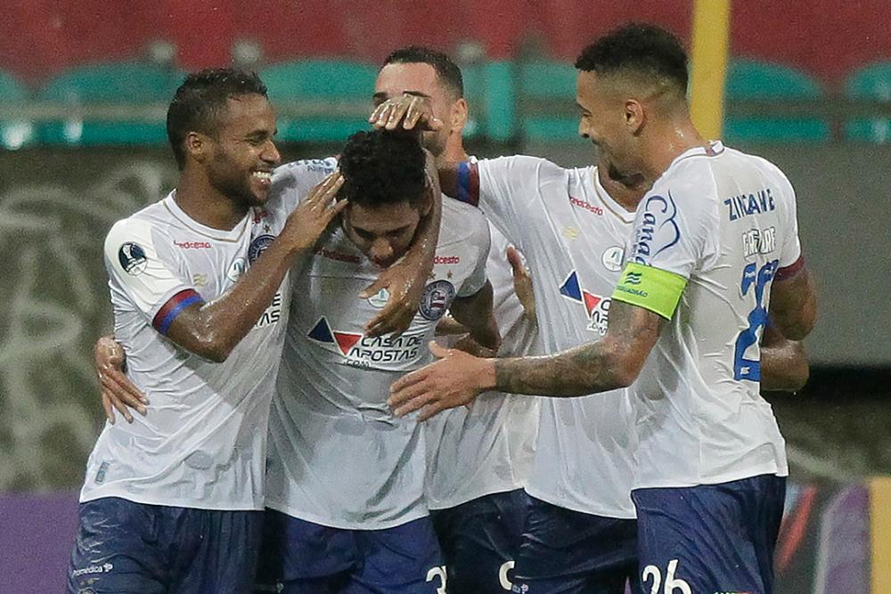 Jugadores de Bahia. AFP.png