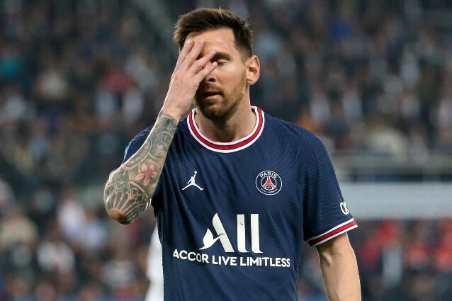 Lionel Messi y partido con PSG frente a Lyon, en la Ligue 1