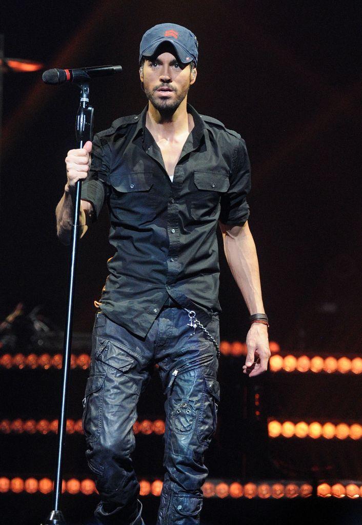 Enrique Iglesias And Pitbull In Concert - Orlando, Florida