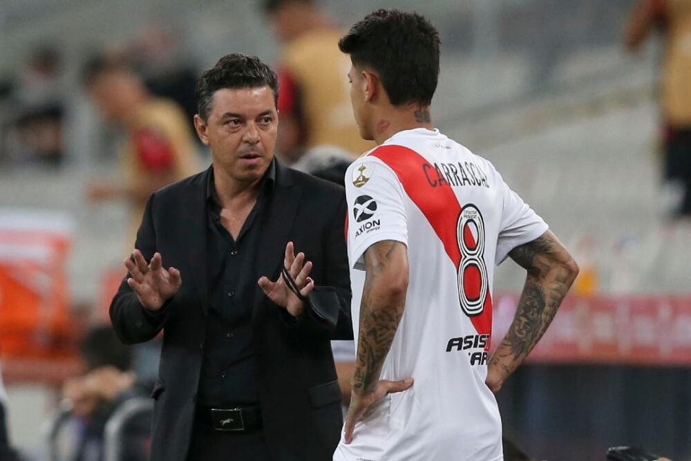 Marcelo Gallardo Jorge Carrascal River Plate 061220 AFP E.jpg