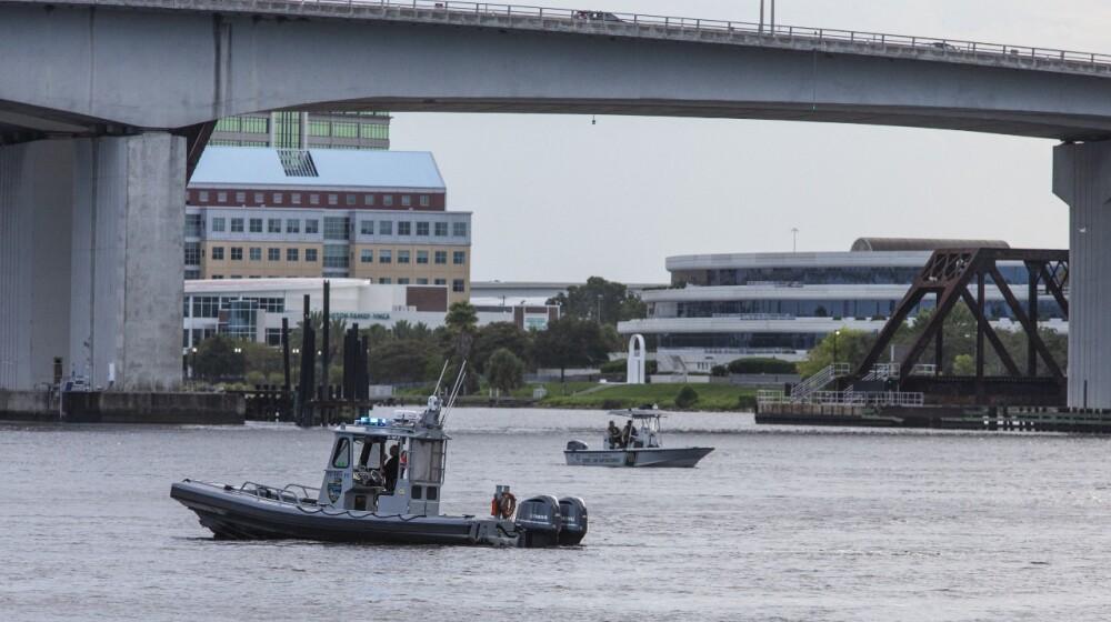 Río St. Johns, en la ciudad de Jacksonville AFP.