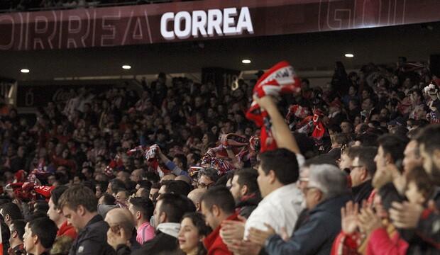 Hinchas Atlético de Madrid