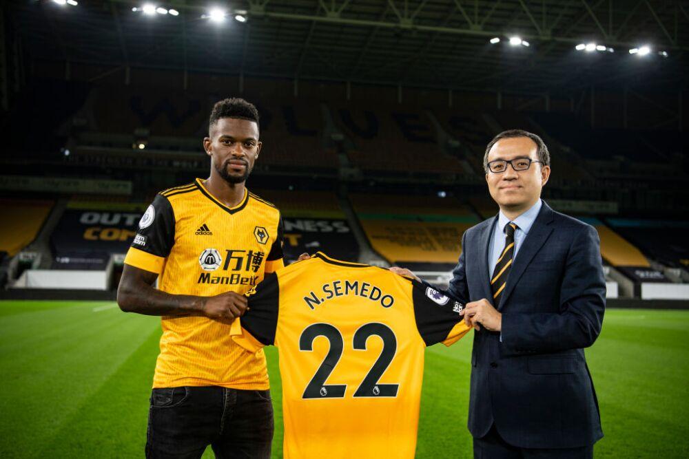 Nelson Semedo, jugador de Wolverhampton