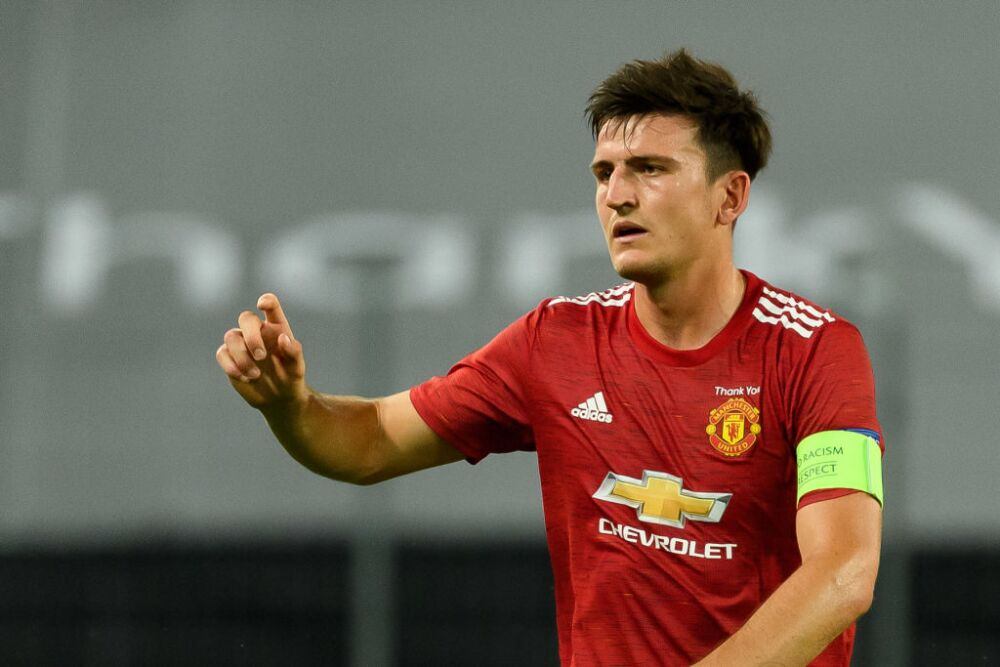 Harry Maguire, jugador Manchester United