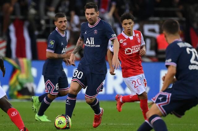 Lionel Messi, con la camiseta del PSG