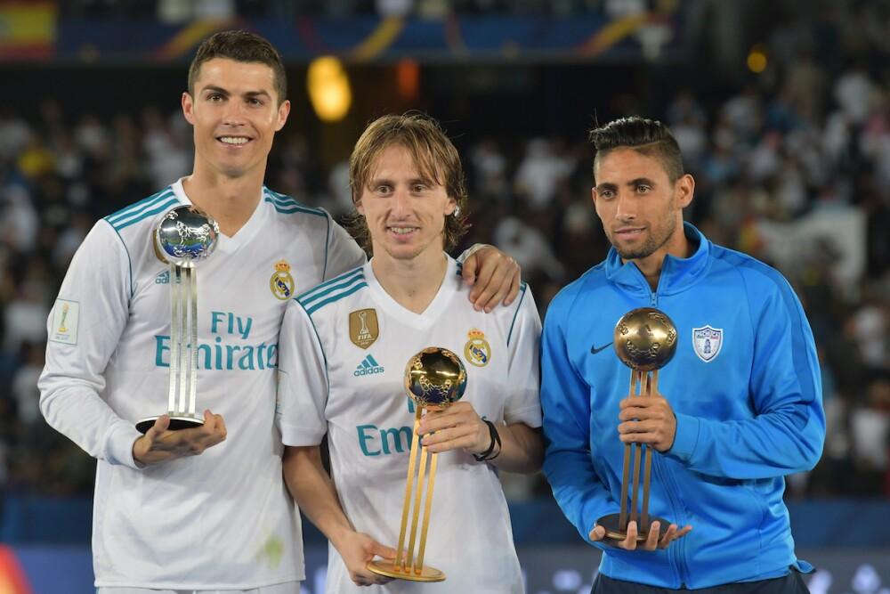 Ronaldo y Luka Modric / AFP
